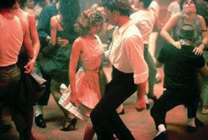Танец хастл