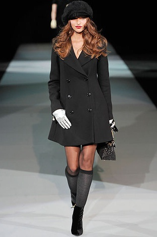модные пальто весной 2011