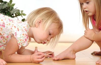 детский маникюр фото