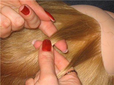 Фото как сделать две косички колосок.