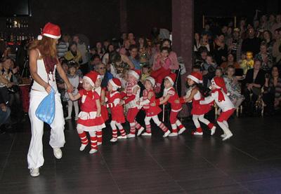 детские выступления Пума школы танцев