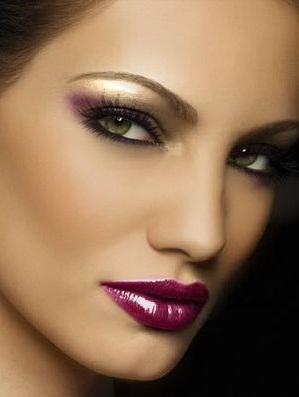 макияж вечерний фото